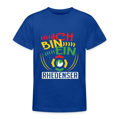 Ich bin ein Rhedenser - Teenager T-Shirt