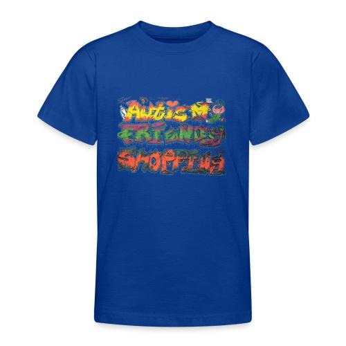 Autism Friendly Shopping Graffiti Style - Teenage T-shirt