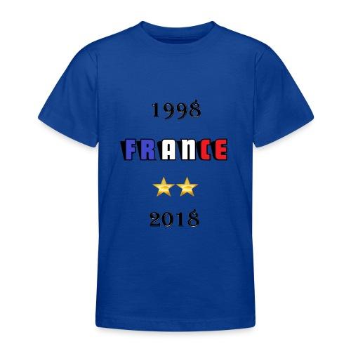 France 1998 2018 - T-shirt Ado