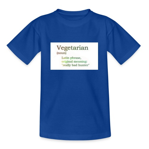 funny-vegetarian - Teenage T-Shirt