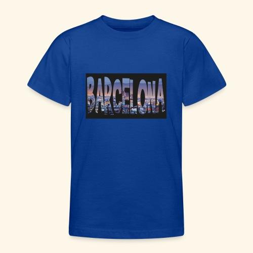 Barcelona - spain - Teenager T-shirt