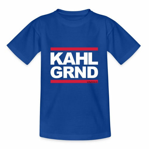 Kahlgründer KAHL GRND // WHITE - Teenager T-Shirt