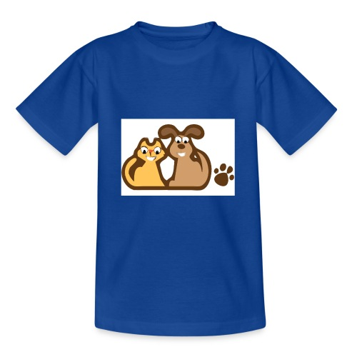 Katze&Hund - Teenager T-Shirt