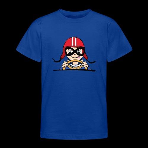 Rennfahrer - Teenager T-Shirt