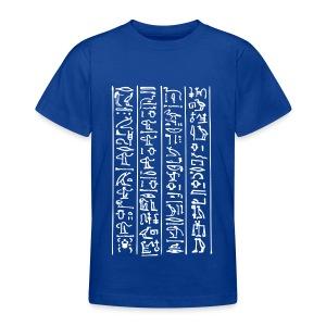 Hieroglyphen - Teenager T-Shirt