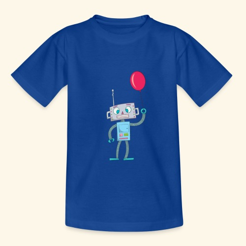 Cute Robot Kids Tees - Teenage T-Shirt