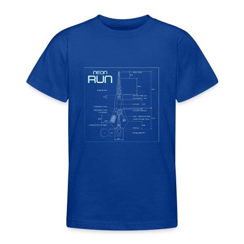NeonRun - Teenager T-shirt