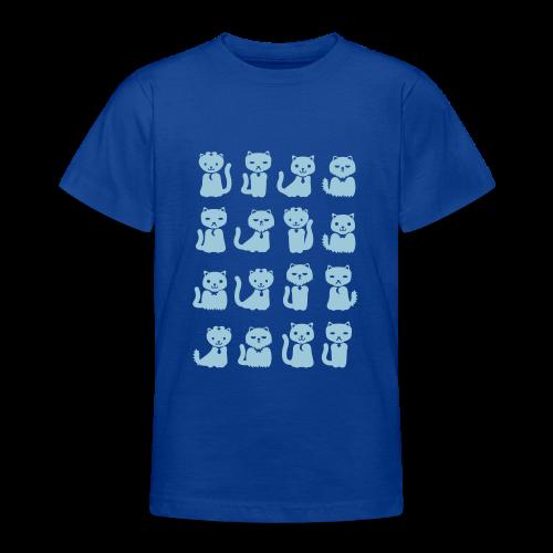 we want cats - Teenage T-Shirt