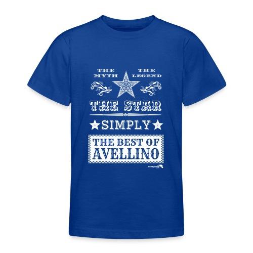 1,03 The Star Legend Avellino Bianco - Maglietta per ragazzi