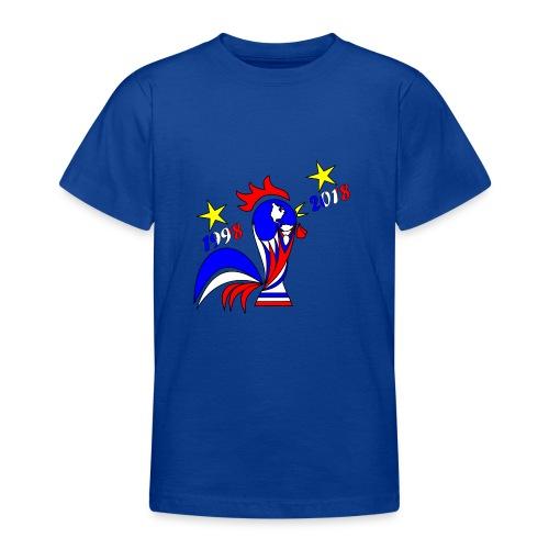 coupe du monde football 2018 mondial France 2018 - T-shirt Ado