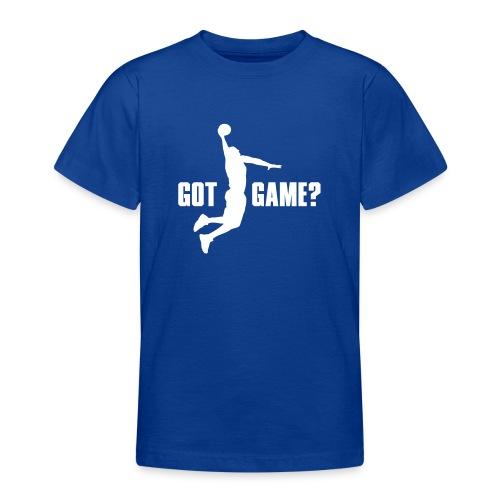 Got Game Dunk Basketball - Teenager T-Shirt