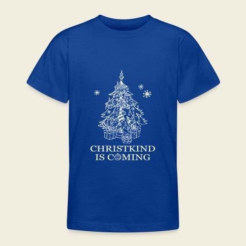 Christkind neu weiss - Teenager T-Shirt