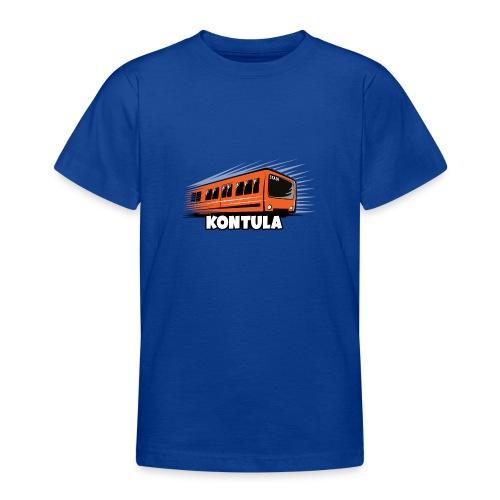 06-KONTULA HELSINKI tekstiili- ja lahjatuotteet - Nuorten t-paita