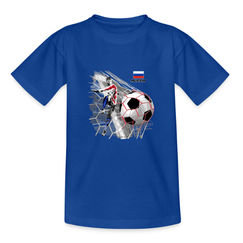 GP22F-04 RUSSIAN FOOTBALL TEXTILES AND GIFTS - Nuorten t-paita