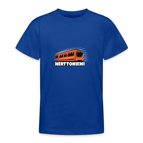 09-HERTTONIEMI METRO - Itä-Helsinki - Nuorten t-paita