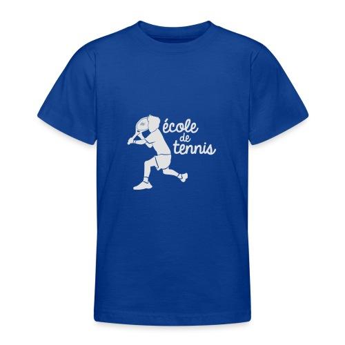 ECOLE DE TENNIS - T-shirt Ado