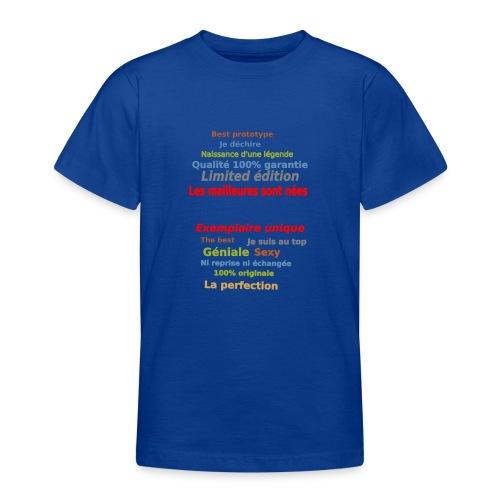 t shirt les meilleures sont nées sweat shirt mugs - T-shirt Ado
