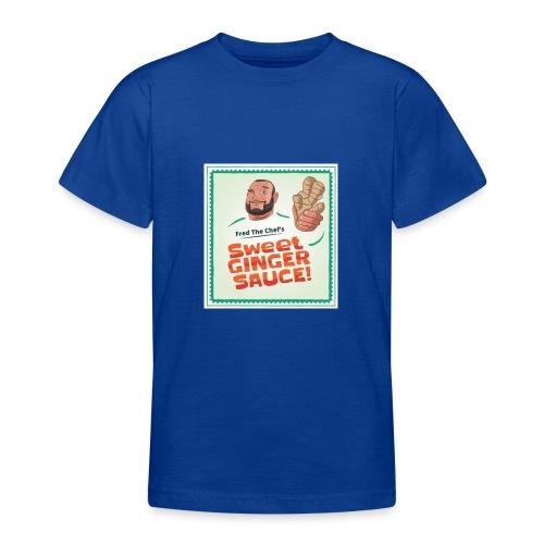 Fred The Chef's Sweet Ginger Sauce - T-skjorte for tenåringer