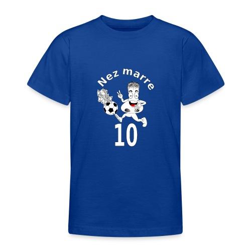 Nez marre football humour FS - T-shirt Ado