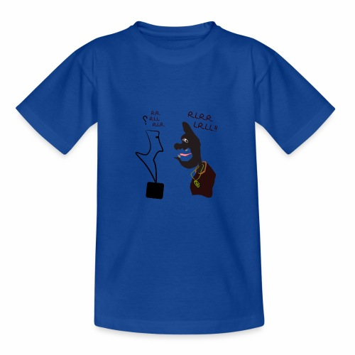 Learning drums - Teenage T-Shirt