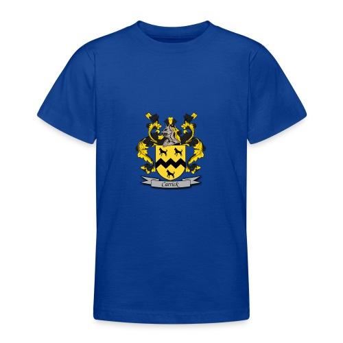 Carrick Family Crest - Teenage T-Shirt