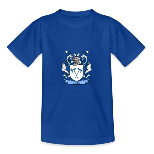 Eccles Family Crest - Teenage T-Shirt