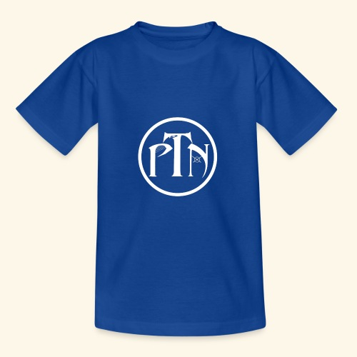 PTN-Music Logo Weiss - Teenager T-Shirt