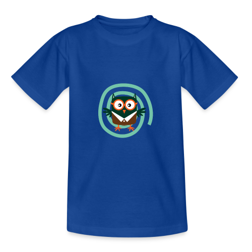FP10-54 SCHOOL OWL - TEXTILE AND GIFT PRODUCTS - Nuorten t-paita
