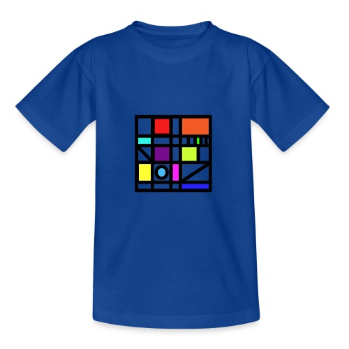 Squares - Teenage T-Shirt