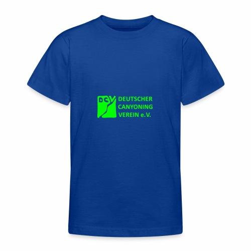 DCV Logo einfarbig - Teenager T-Shirt