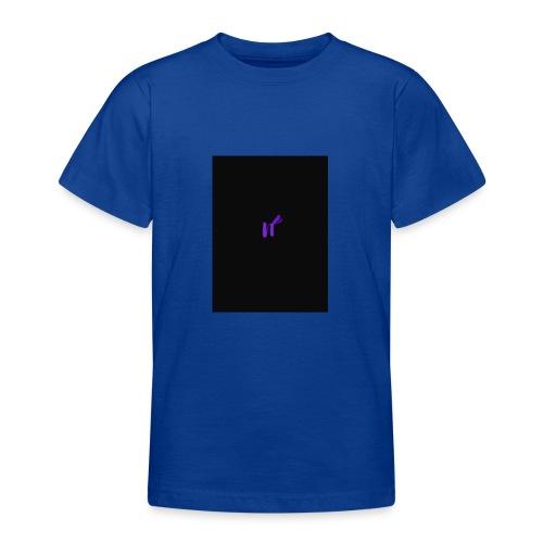 purple funky - T-skjorte for tenåringer