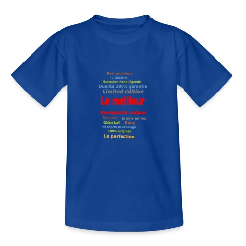 t shirt le meilleur sweat shirt coque et mugs - T-shirt Ado