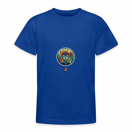 Le chat des colonnes bulleuses - T-shirt Ado