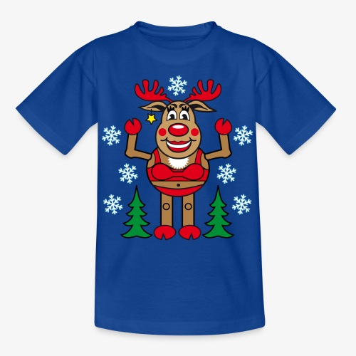 48 Madame Rudolphine Xmas - Teenager T-Shirt