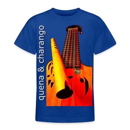 Quena y Charango I - Camiseta adolescente