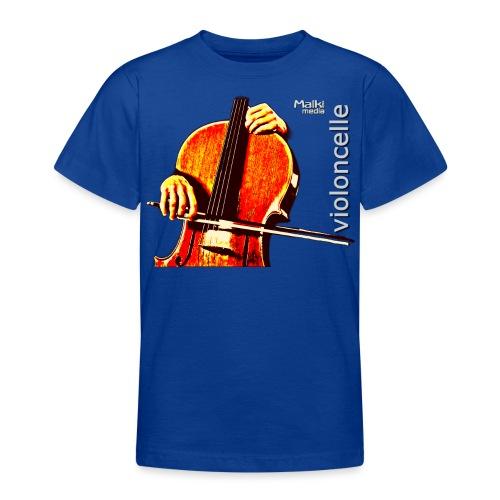 violonchelo - Camiseta adolescente