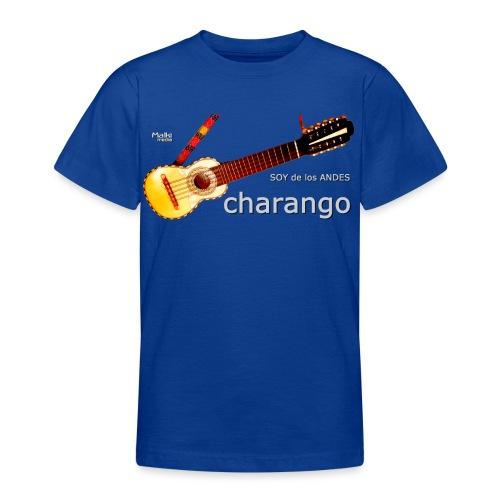 De los ANDES - Charango II - Camiseta adolescente
