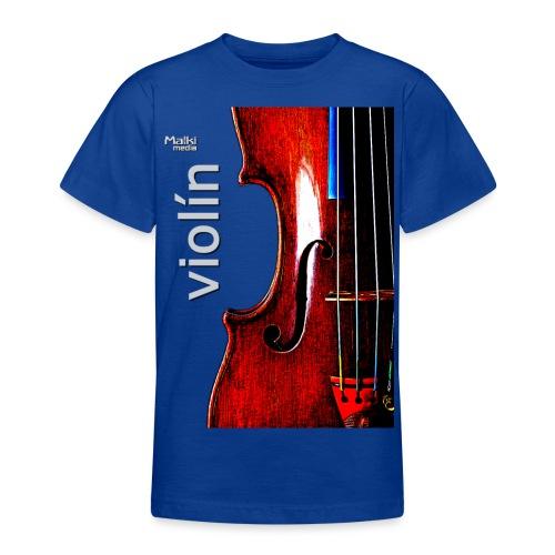 Violín i - Camiseta adolescente