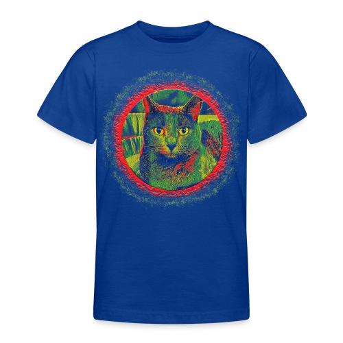 CAT ART AMERA - Teenager T-Shirt