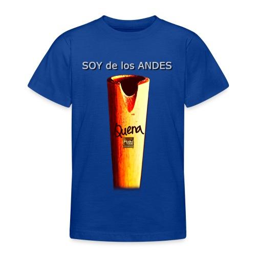 De los ANDES - Quena II - Camiseta adolescente