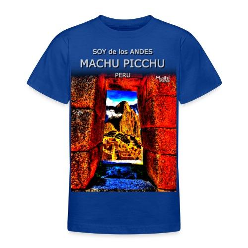 SOY de los ANDES - Machu Picchu II - Teenage T-Shirt