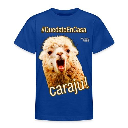 Quedate En Casa Caraju - Teenager T-Shirt