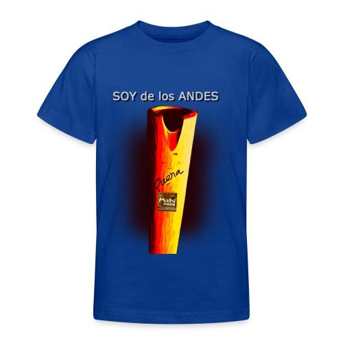 De los ANDES - La Quena - Camiseta adolescente