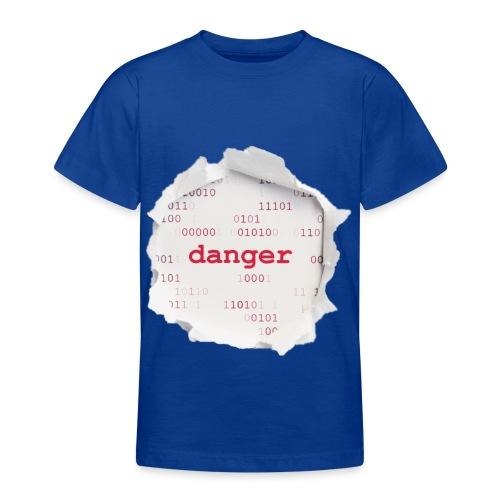 Hacking - T-shirt tonåring