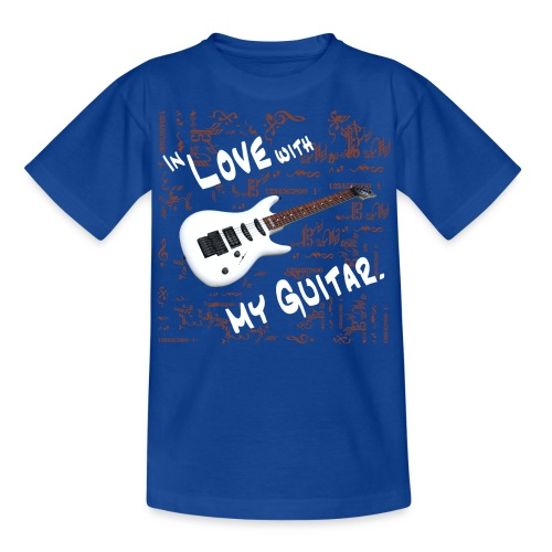 In love with my guitar - Teenager T-Shirt