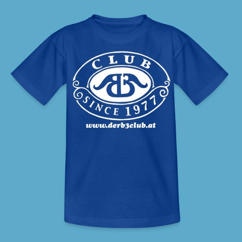 B3Club weiß groß png - Teenager T-Shirt