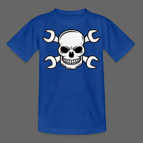 MEKKER SKULL - Teenager-T-shirt