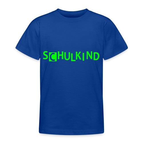 Schulkind - Teenager T-Shirt