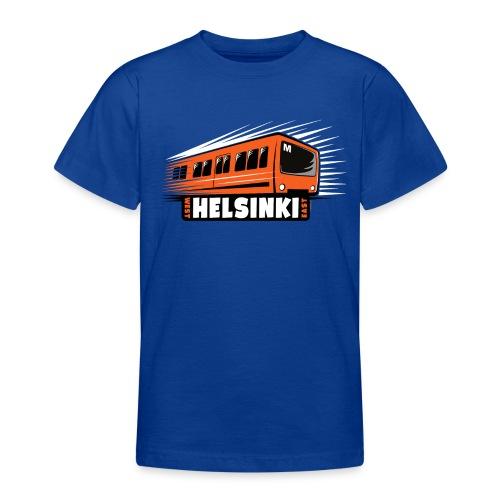 Helsinki Metro T-Shirts, Hoodies, Clothes, Gifts - Nuorten t-paita