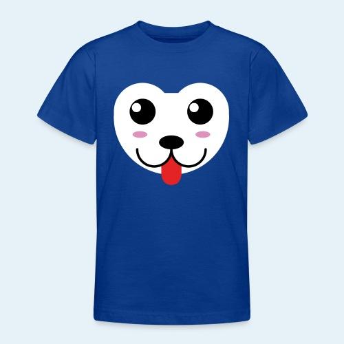 Husky perro bebé (baby husky dog) - Camiseta adolescente